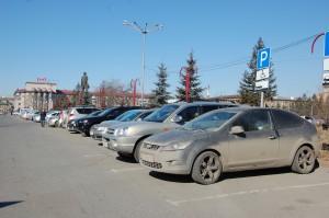 Парковки стали платными.